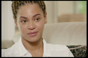 Queen Bey, looking mad regular (because she really is)