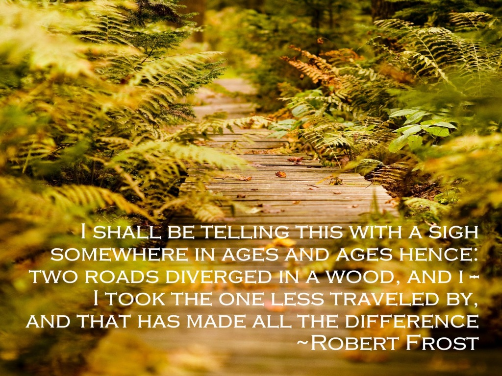 robert frost the road not traveled