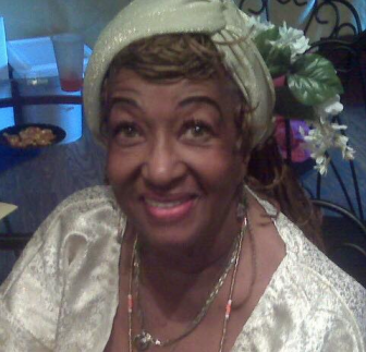 My godmother, Moremi Iyanifa Osun Monife Balewa. 35 years of priesthood and hasn't skipped a beat.